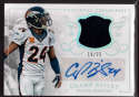 2015 Panini National Treasures Signatures #21 Champ Bailey Mint Auto /25 Patch Jersey