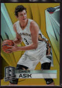 2014-15 Panini Spectra Gold Prizms #35 Omer Asik Mint #08/10