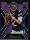 2014 Panini Select Rookies Purple Prizm #124 David Fales Mint RC Rookie /25