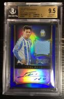 2015 Panini Select Jersey Autographs Blue /20 Lionel Messi Auto BGS 9.5 GEM MINT POP1