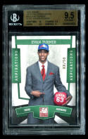 EVAN TURNER 2010 PANINI NATIONAL #31 ELITE ASPIRATIONS RC /50 BGS 9.5 GEM MINT a