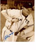 JOHNNY MIZE 8X10 B/W AUTOGRAPH PHOTO AUTO *NEW YORK GIANTS - FIRST BASEMAN* a