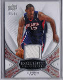 AL HORFORD 2008-09 Upper Deck EXQUISITE #03/35 SP GAME USED JERSEY RELIC PATCH HAWKS  L4