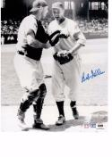 BOB FELLER 8X10 B/W AUTOGRAPH PHOTO AUTO COA HOWARD'S SPORTS COLLECTIBLES a