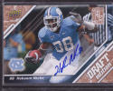 HAKEEM NICKS 2009 Upper Deck DRAFT EDITION ROOKIE CARD AUTOGRAPH #149 GOLD /50 COLTS n3