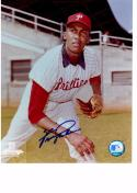 FERGIE JENKINS 8X10 COLOR AUTOGRAPH PHOTO AUTO *PHILLIES - PITCHER* a