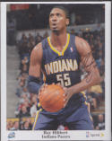 ROY HIBBERT FRAMED 8x10 COLOR PHOTO ALL STAR AUTO AUTOGRAPH *INDIANA PACERS* a