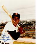 MINNIE MIÑOSO 8X10 COLOR AUTOGRAPH PHOTO AUTO CLEVELAND INDIANS - LEFT FIELDER a