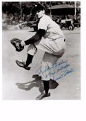 DUANE PILLETTE 8X10 B/W AUTOGRAPH PHOTO AUTO *NEW YORK YANKEES - PITCHER* a