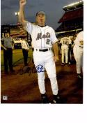 BOBBY VALENTINE 8X10 COLOR AUTOGRAPH PHOTO AUTO *NEW YORK METS - MANAGER* a