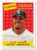 JOSE ABREU 2014 TOPPS ALL STAR RC SP #04/99 RARE ROOKIE 10x14 PRINT WHITE SOX  z