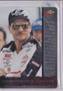 DALE EARNHARDT 1996 ASSETS RACING 'COMPETITOR'S LICENSE' #4 #CL4 *RARE CARD*  3