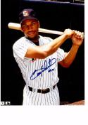 GARY SHEFFIELD 8X10 COLOR AUTOGRAPH PHOTO AUTO PADRES - 3RD BASEMAN/OUTFIELDER a
