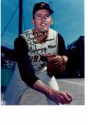 VERN LAW 8X10 COLOR AUTOGRAPH PHOTO AUTO *PITTSBURGH PIRATES - PITCHER* a