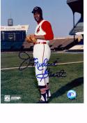 MUDCAT GRANT 8X10 COLOR AUTOGRAPH PHOTO AUTO *CLEVELAND INDIANS - PITCHER* a